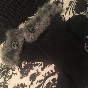 Michael Kors Boot Cuff Faux Fur Boot Socks